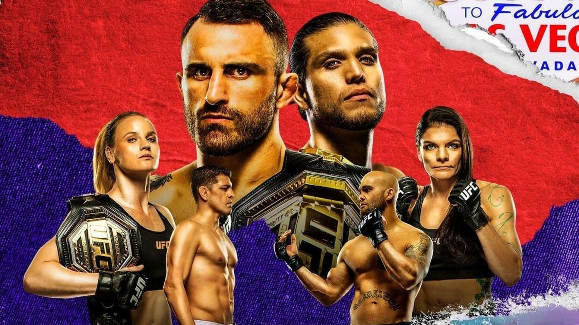 Официальный постер UFC 266 - РИА Новости, 1920, 24.09.2021