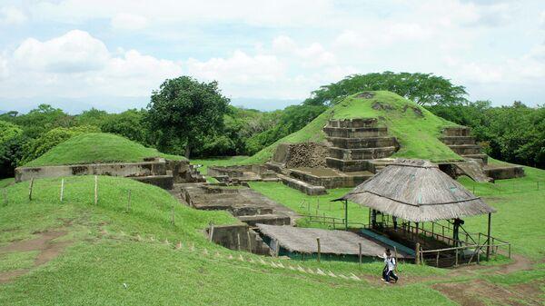 Пирамиды Сан-Андрес, Акрополь Майя в Сальвадоре