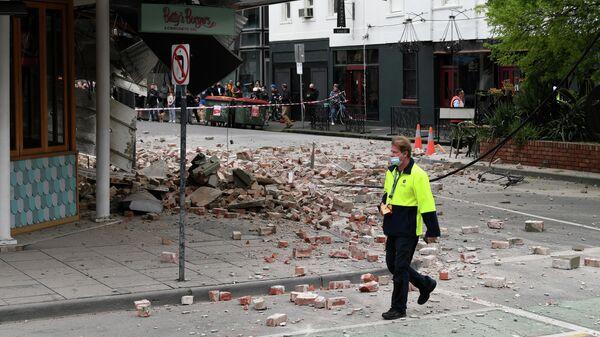 Последствия землетрясения в Австралии