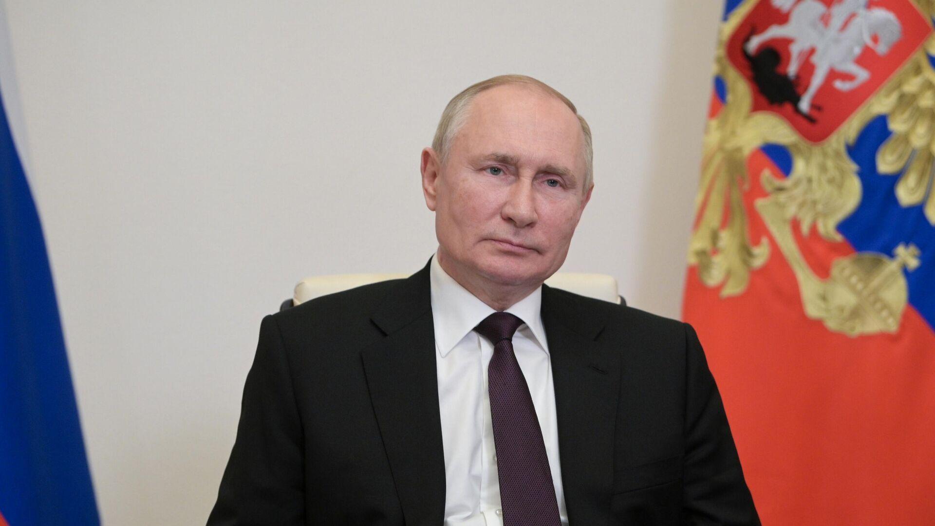 Президент России Владимир Путин - РИА Новости, 1920, 29.09.2021