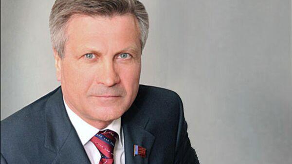 Президент Алтайского государственного университета Сергей Землюков