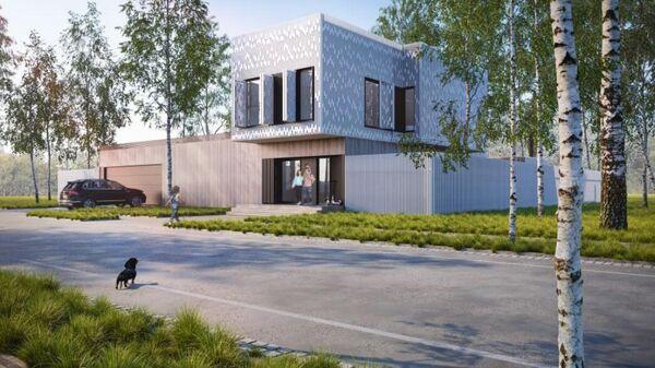 Проект индивидуального жилого дома ООО Простор