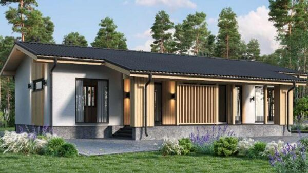 Проект индивидуального жилого дома АО Тамак