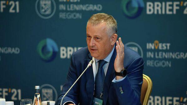 Губернатор Ленинградской области Александр Дрозденко на Балтийском региональном инвестиционном форуме BRIEF'21