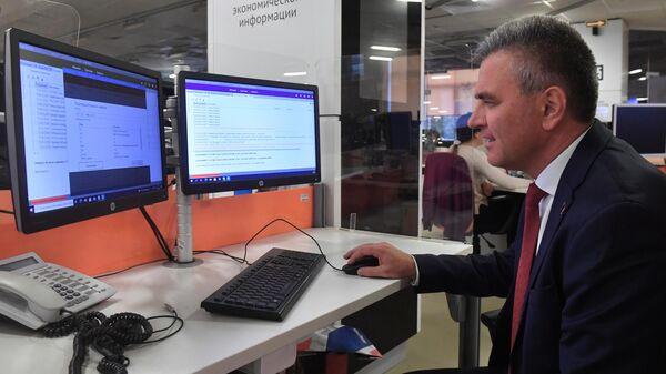 Глава Приднестровской Молдавской Республики Вадим Красносельский выпускает новость на сайт ria.ru в редакции Международного информационного агентства Россия сегодня.