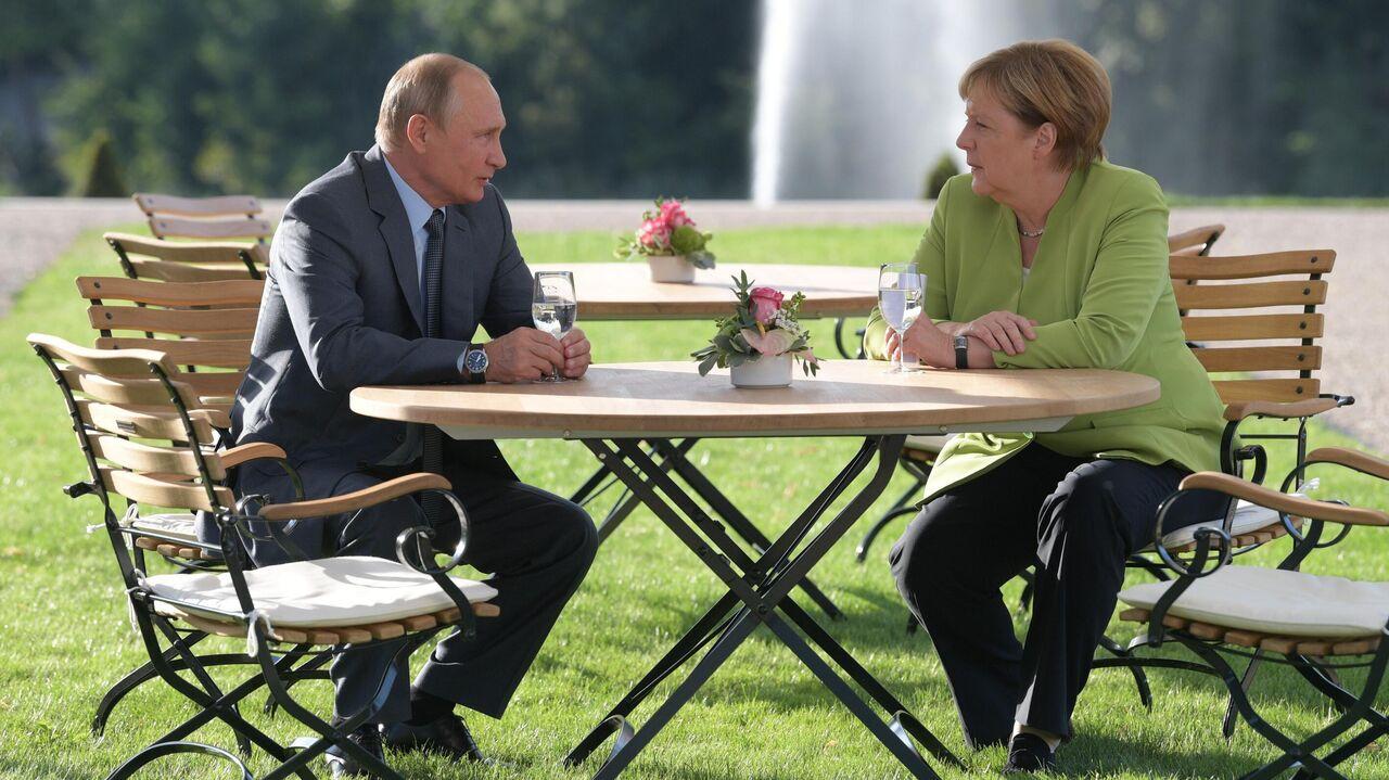 Меркель рассказала о существенных разногласиях с Путиным