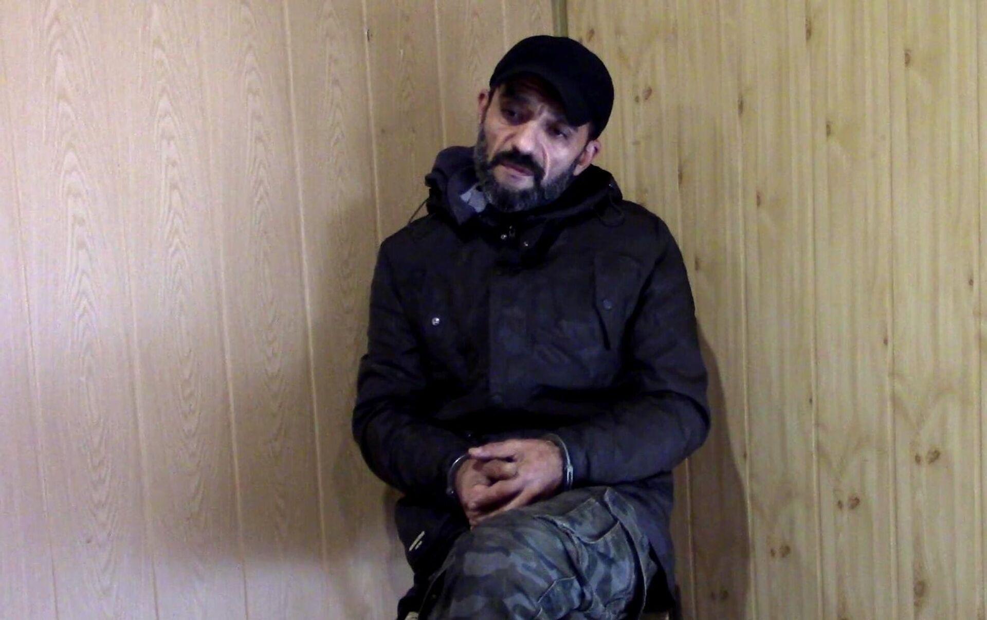 Гражданин Узбекистана, задержанный за незаконное пересечение границы РФ - РИА Новости, 1920, 24.09.2021