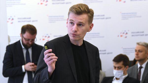 Директор по управлению цифровыми каналами информационной системы Российского экспортного центра (РЭЦ) Одно окно Иван Высотенко