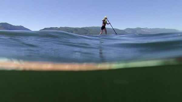 Занятия SUP серфингом