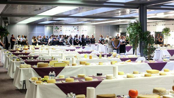 Конкурс сыров и молочных продуктов на салона Mondial du fromage 2021