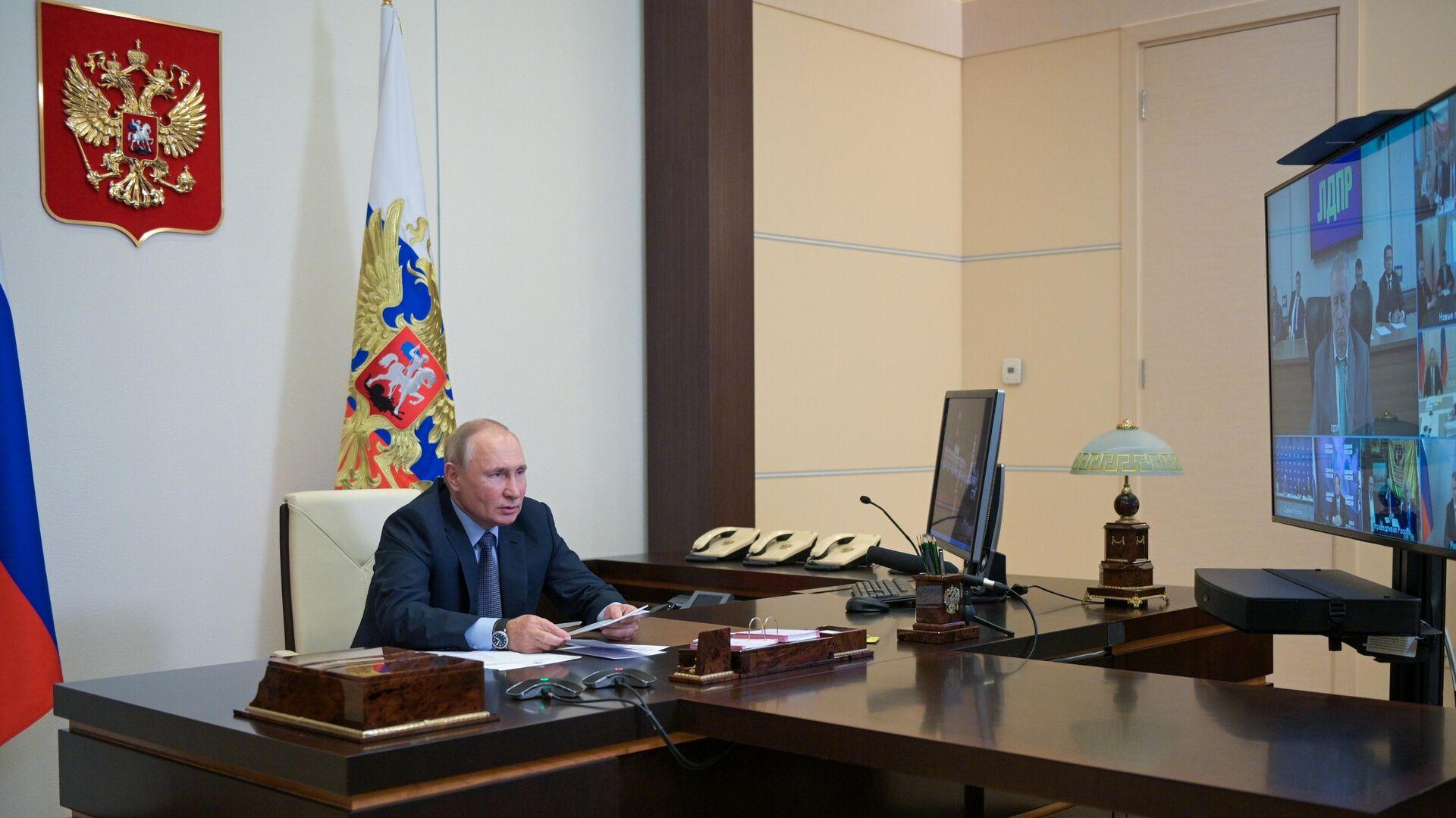 Президент РФ Владимир Путин - РИА Новости, 1920, 27.09.2021