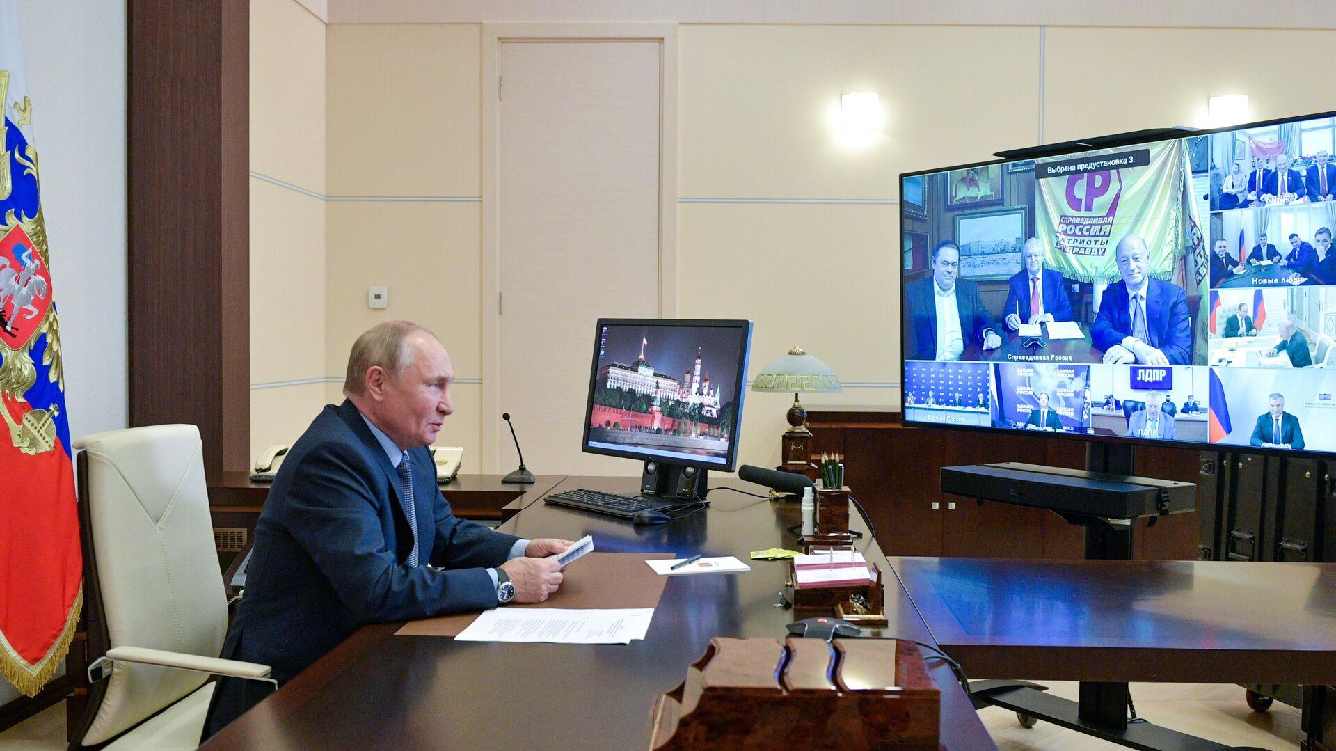 Жириновский раскрыл детали закрытой встречи с Путиным