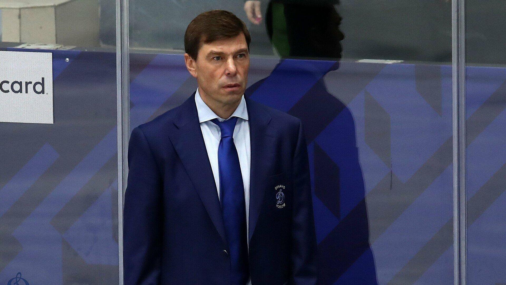 Главный тренер Динамо Алексей Кудашов - РИА Новости, 1920, 25.09.2021