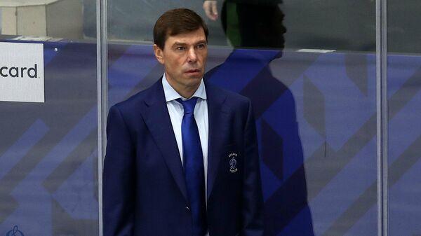 Главный тренер Динамо Алексей Кудашов