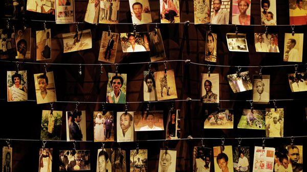 Акция, посвященная жертвам геноцида в Руанде 1994 года