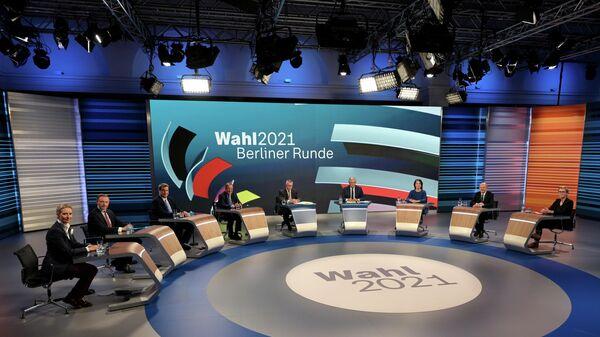 Теледебаты после всеобщих выборов в Берлине, Германия