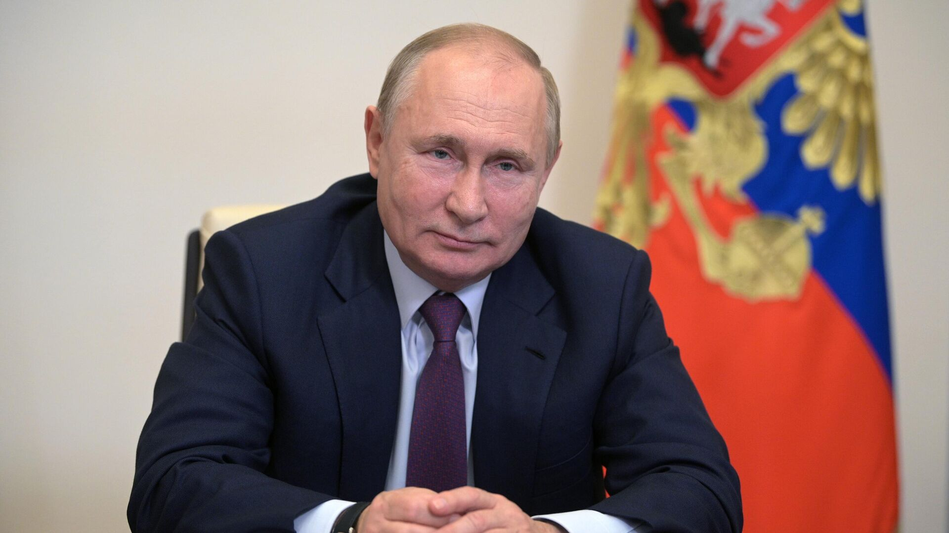 Президент РФ Владимир Путин - РИА Новости, 1920, 05.10.2021