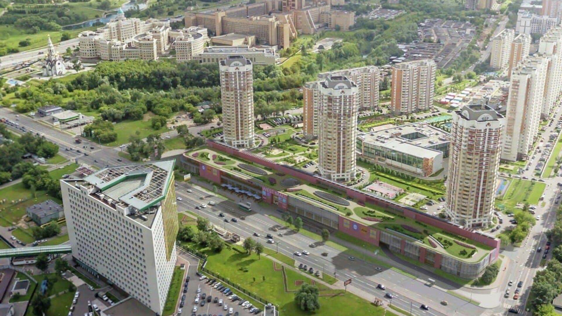 Проект торгового центра на западе Москвы  - РИА Новости, 1920, 27.09.2021