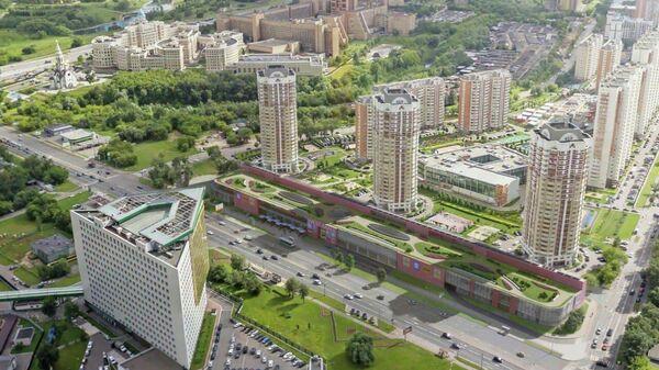 Проект торгового центра на западе Москвы