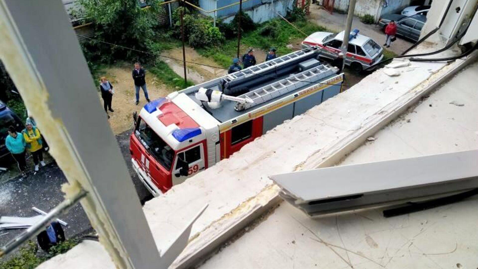 В городе на Ставрополье ввели режим ЧС после хлопка газа в пятиэтажке