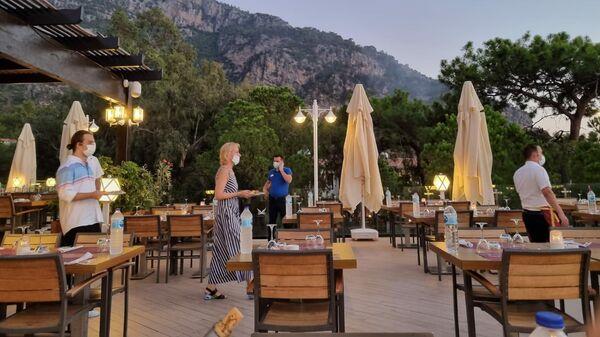 Ужин в отеле. Фетхие, Турция