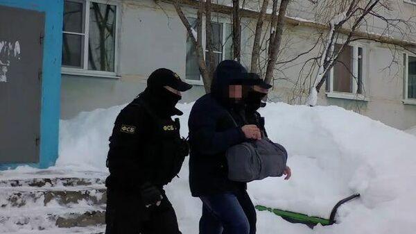 Задержание подпольных оружейников. Видео ФСБ