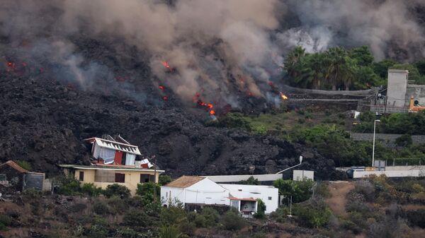 Извержение вулкана на острове Пальма, Канарские острова