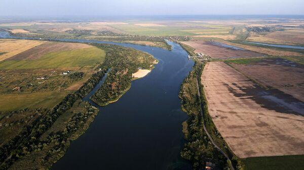 Река Дон в станице Старочеркасская в Ростовской области