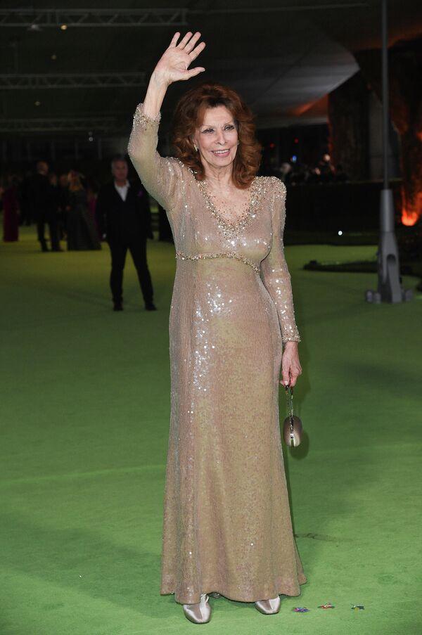 Софи Лорен на церемонии открытия Музея Американской киноакадемии