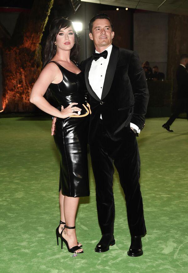 Кэти Перри и Орландо Блум на церемонии открытия Музея Американской киноакадемии
