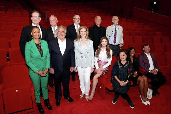 Пресс-конференция по открытию Музея Американской киноакадемии в Лос-Анджелесе