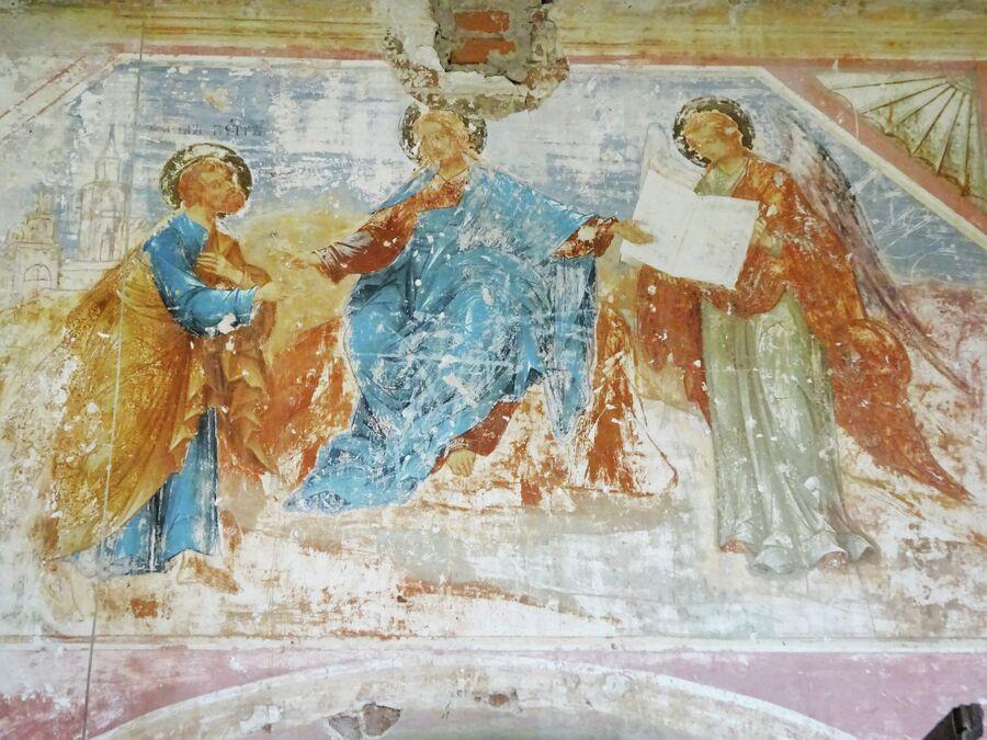 Церковь Рождества Пресвятой Богородицы, росписи