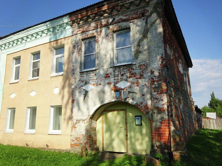 Улица Моругина. Дом Молковых и дом Барышевой (18 век)