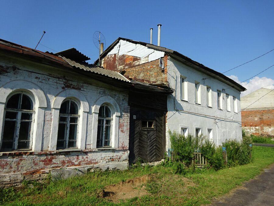 Улица Труфанова, жилые дома (19 - нач. 20 в.)