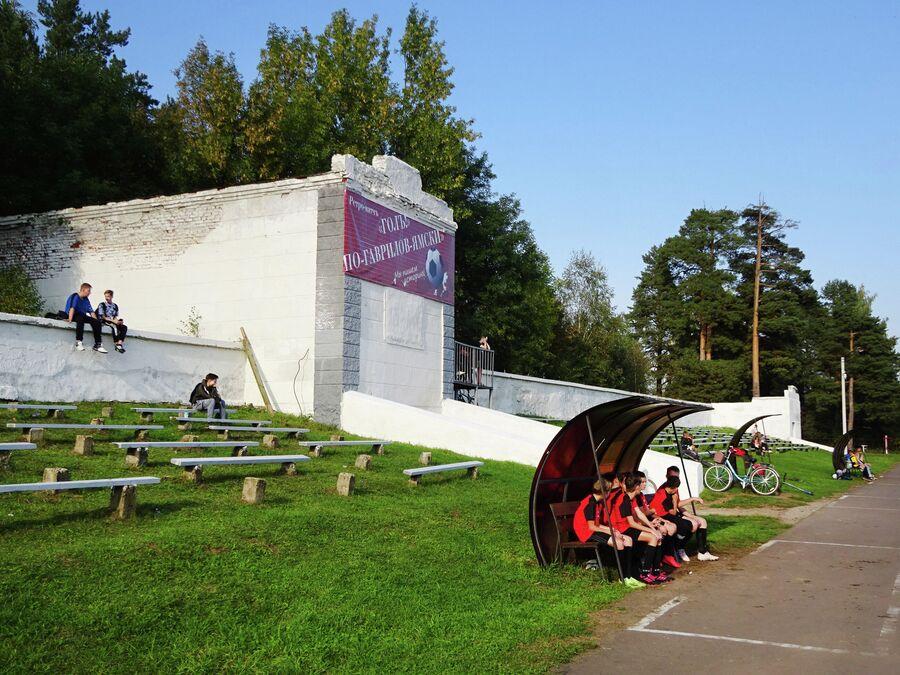 Стадион Труд - возможно, старейший стадион России