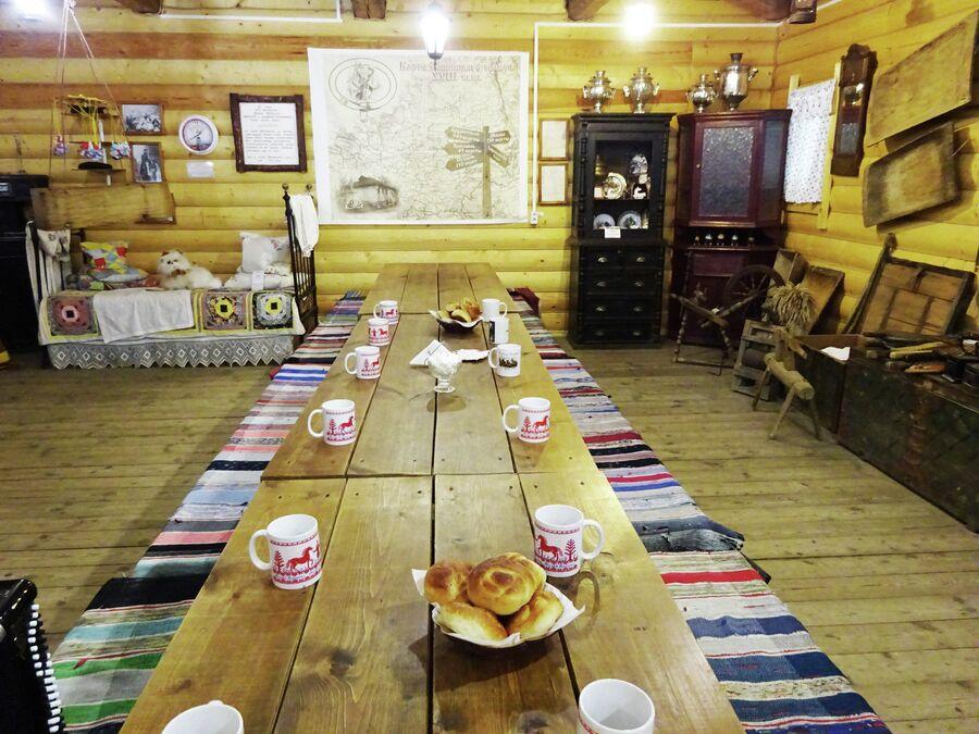 В Музее ямщика проводят чаепития