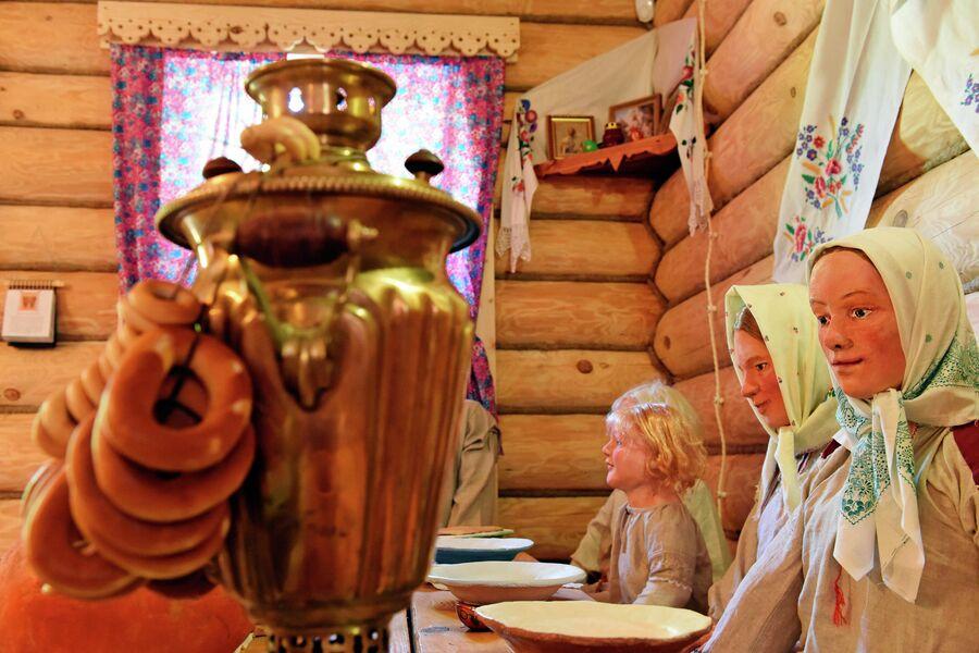 Этнографический комплекс Национальная деревня народов Саратовской области на Соколовой горе