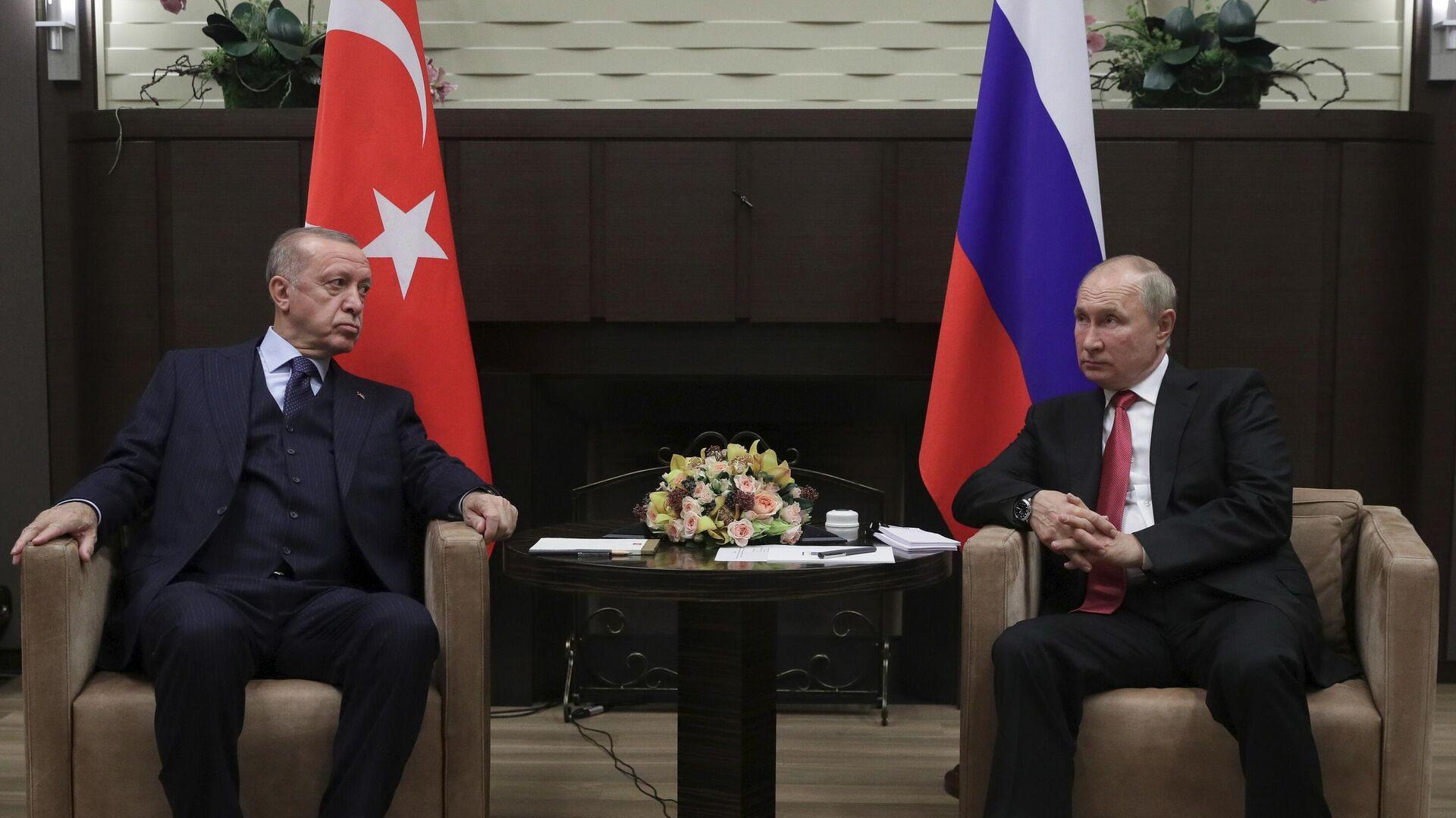 Переговоры Путина и Эрдогана в Сочи завершились спустя три часа