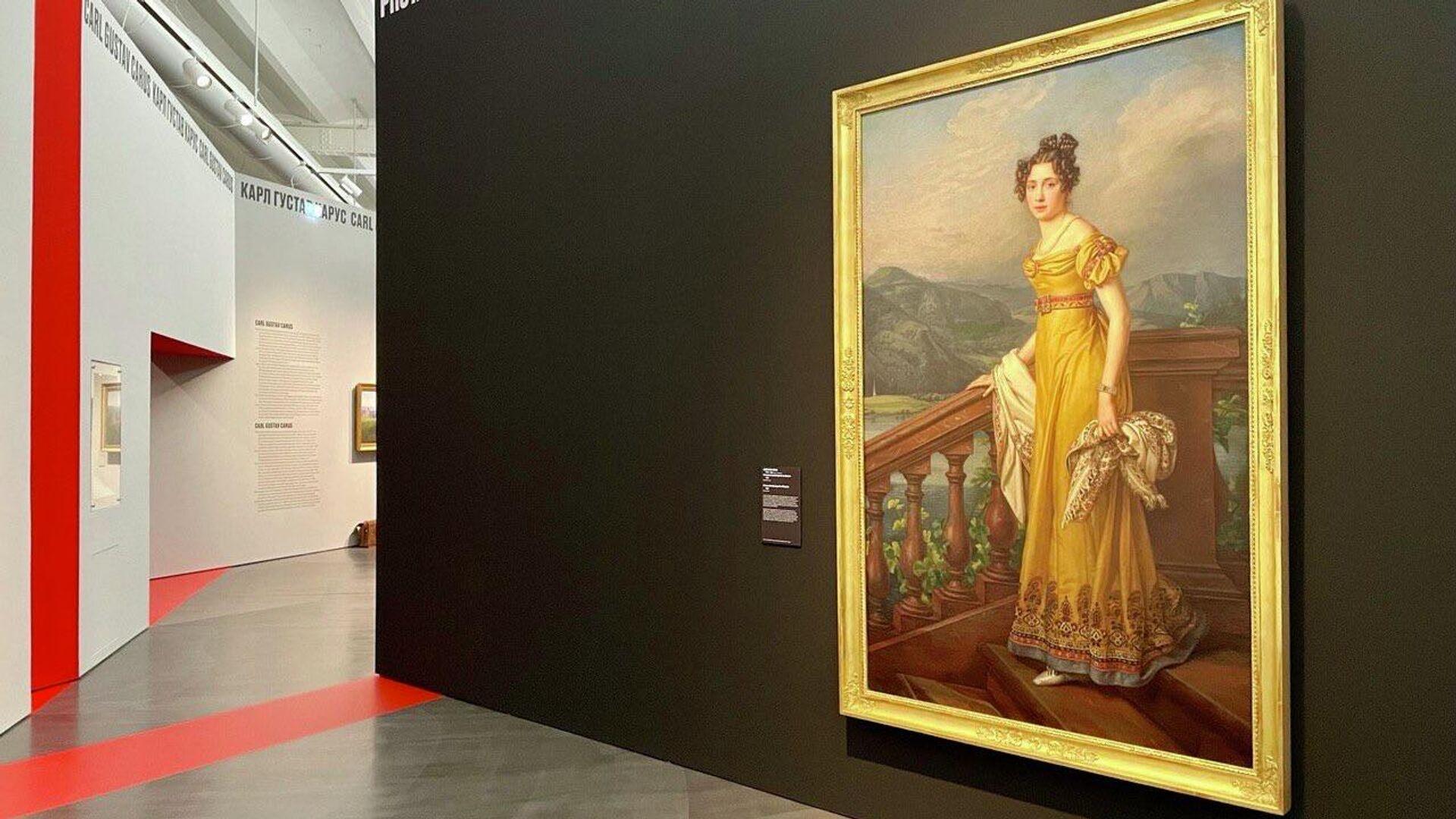 На выставке Мечты о свободе. Романтизм в России и Германии в Дрездене - РИА Новости, 1920, 30.09.2021