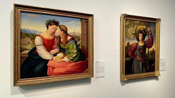 На выставке Мечты о свободе. Романтизм в России и Германии в Дрездене