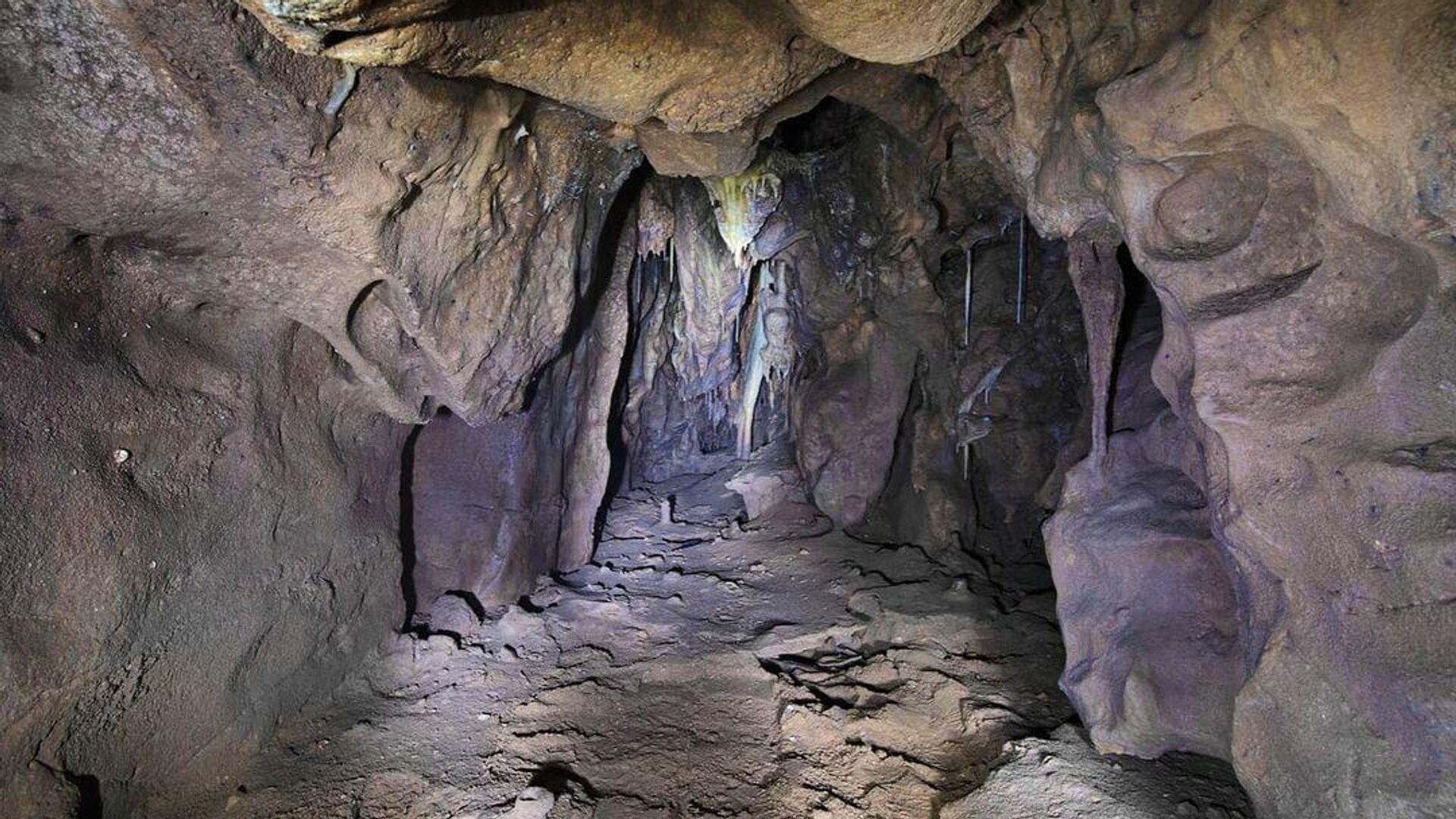 Пещера Авангард в пещерном комплексе Горама на Гибралтаре - РИА Новости, 1920, 01.10.2021