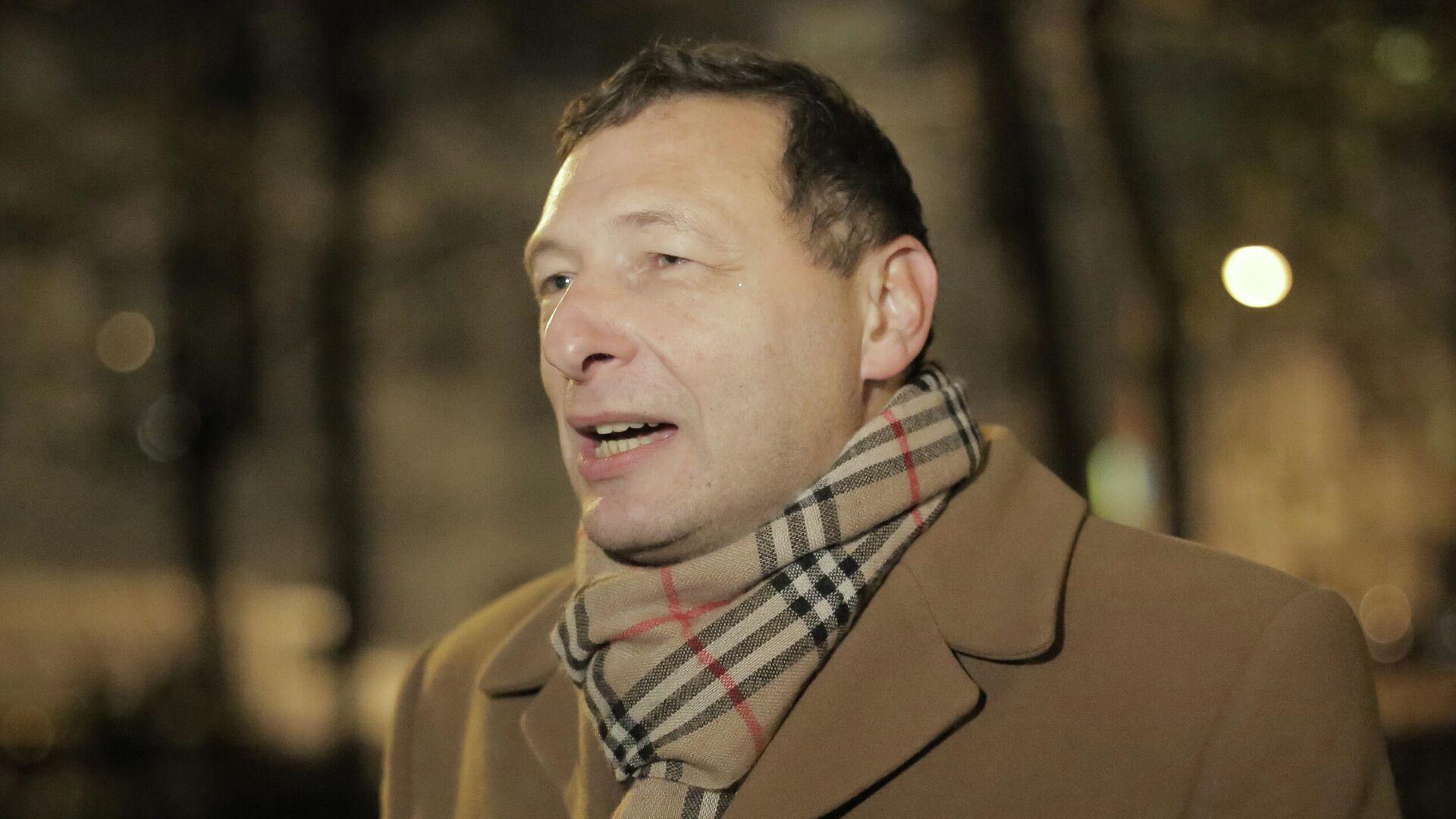 В Москве арестовали на десять суток политолога Кагарлицкого за несогласованное мероприятие