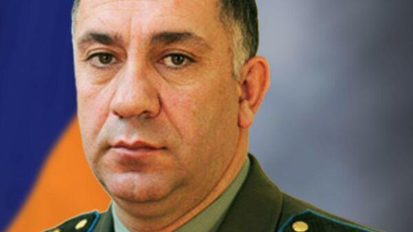 Замглавы Генштаба Вооруженных сил Армении Степан Галстян