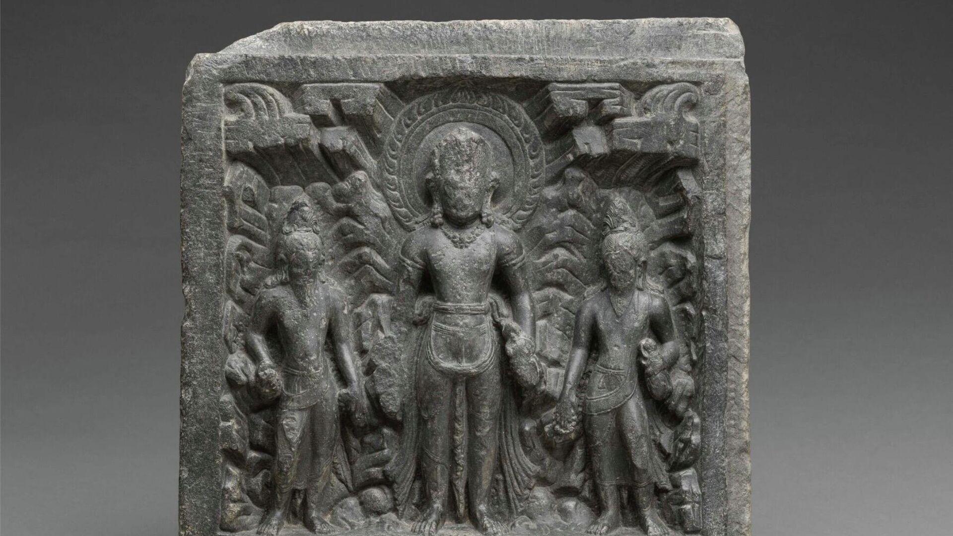 Скульптура индуистского божества Шивы X века - РИА Новости, 1920, 02.10.2021