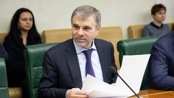 Член Совета Федерации от народного собрания Ингушетии Белан Хамчиев