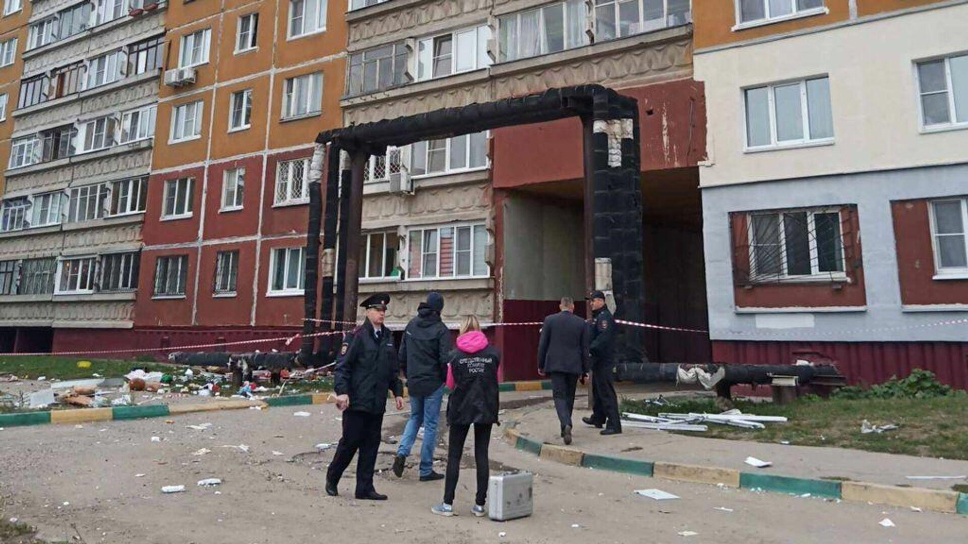 Некоторым жильцам дома в Нижнем Новгороде разрешили вернуться в квартиры после взрыва газа