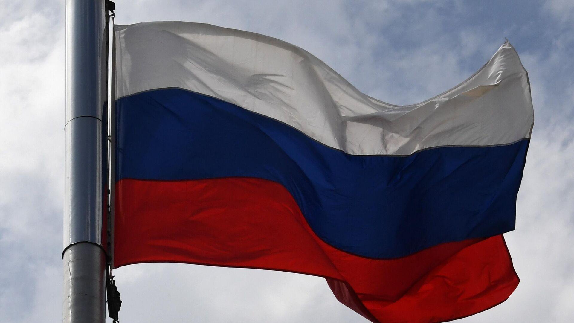 Празднование Дня государственного флага России - РИА Новости, 1920, 03.10.2021