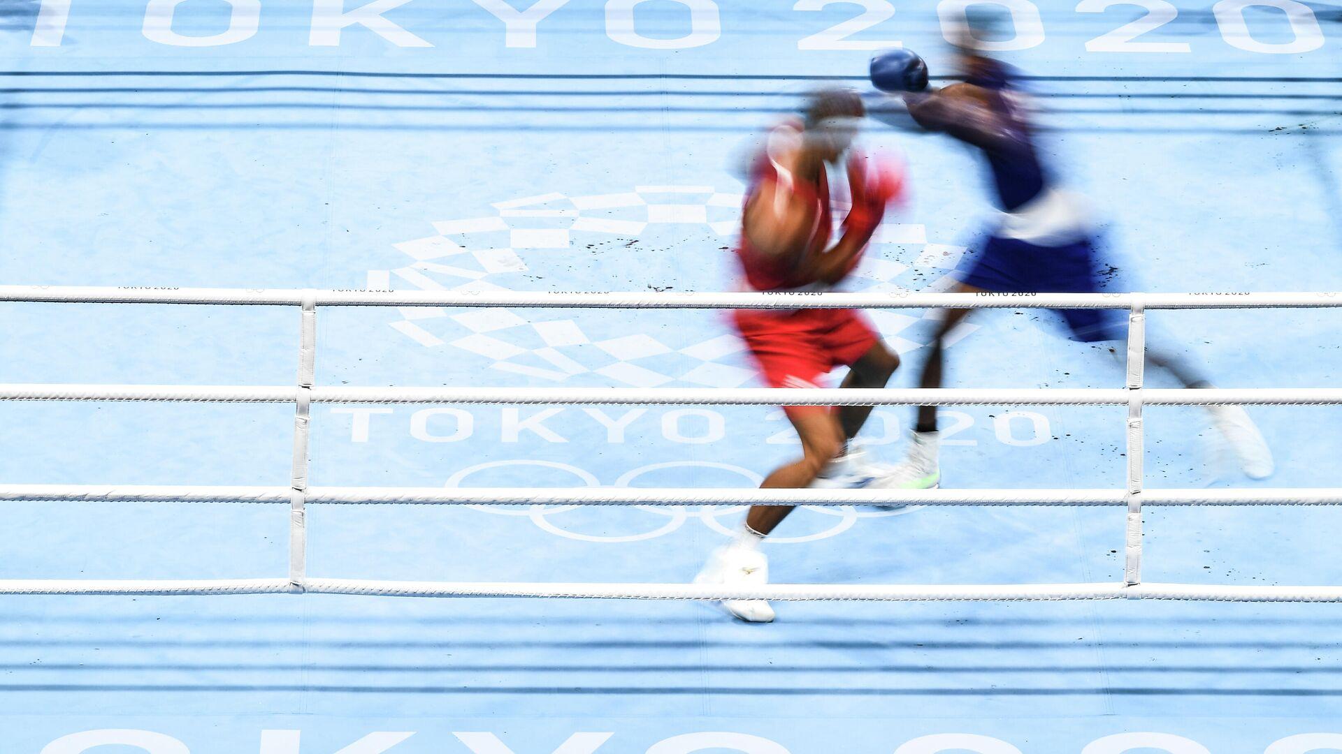 Олимпиада-2020. Бокс. Мужчины до 81 кг - РИА Новости, 1920, 02.10.2021