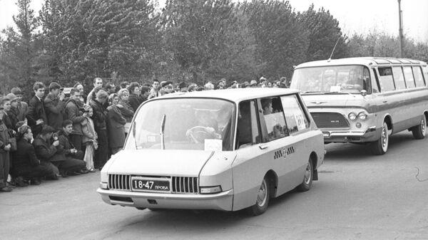 Водители кобылы и первые такси в России