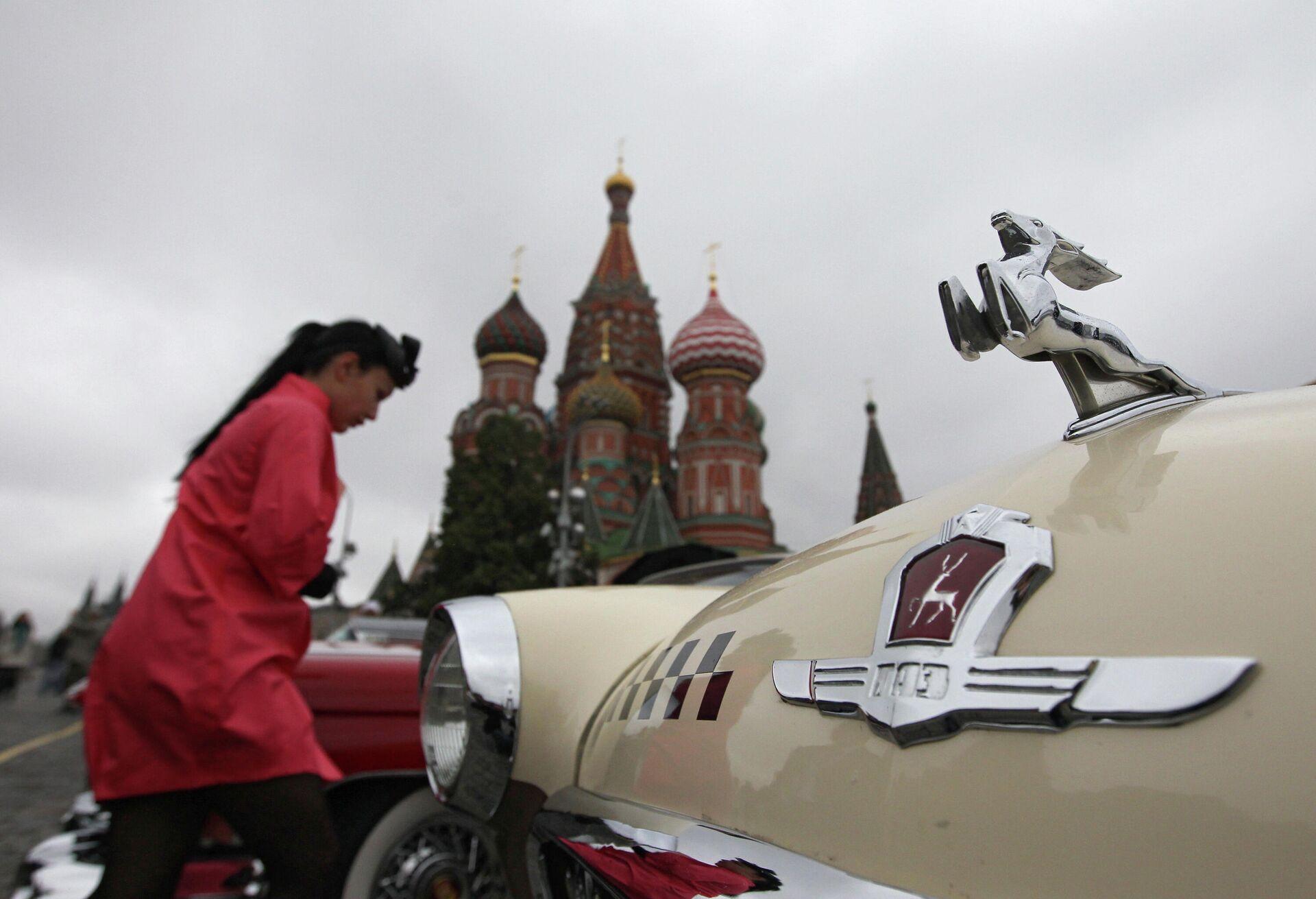 Автопробег Из прошлого в будущее - РИА Новости, 1920, 03.10.2021